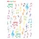 Naklejki symbole muzyczne