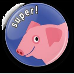 Przypinka świnia