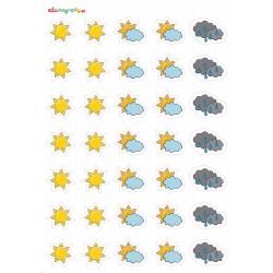 Naklejki pogoda