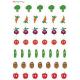 Naklejki warzywa