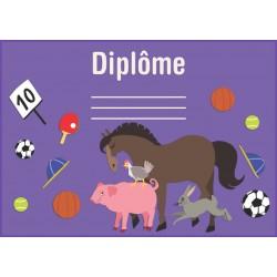 Dyplom zwierzęta wiejskie (polski)
