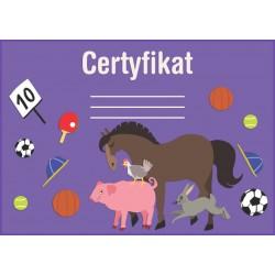 Certyfikat zwierzęta wiejskie (polski)
