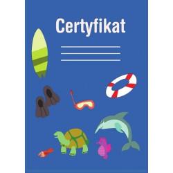 Certyfikat zwierzęta wodne (polski)